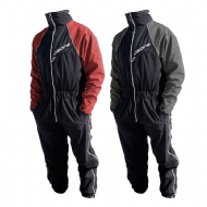 Ozone Layer Flyingsuit/Overall Black/Red